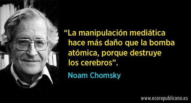18 grandes frases de Noam Chomsky