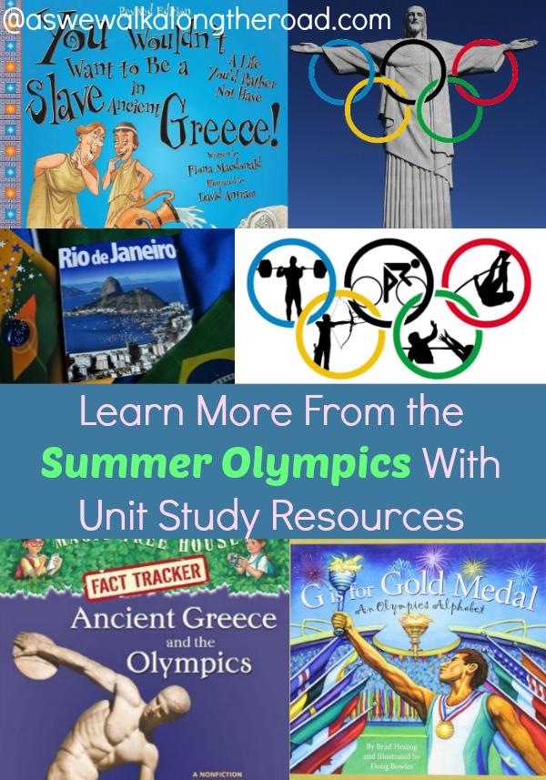 Olympics unit study