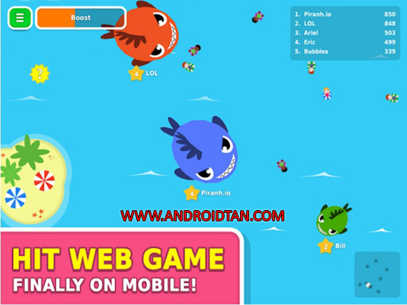 Piranh.io Mod Apk Free Download