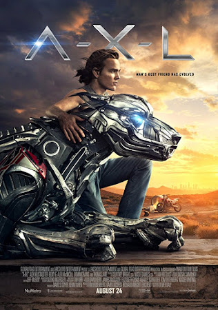 Poster Of A-X-L In Dual Audio Hindi English 300MB Compressed Small Size Pc Movie Free Download Only At worldfree4u.com