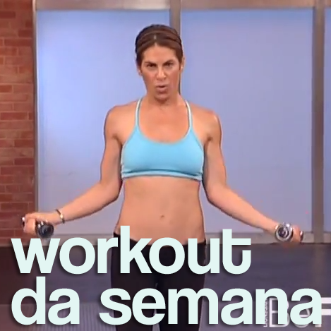 Workout da Semana: Zonas problemáticas com Jillian Michaels