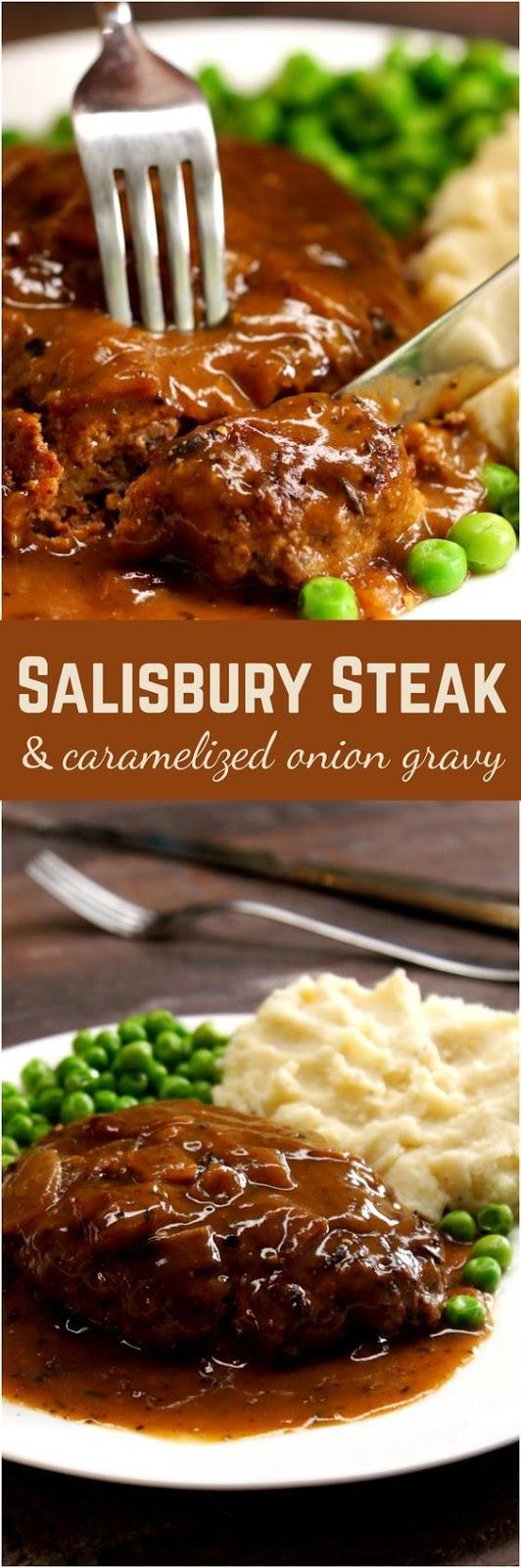 Amazing Salisbury Steak Recipe