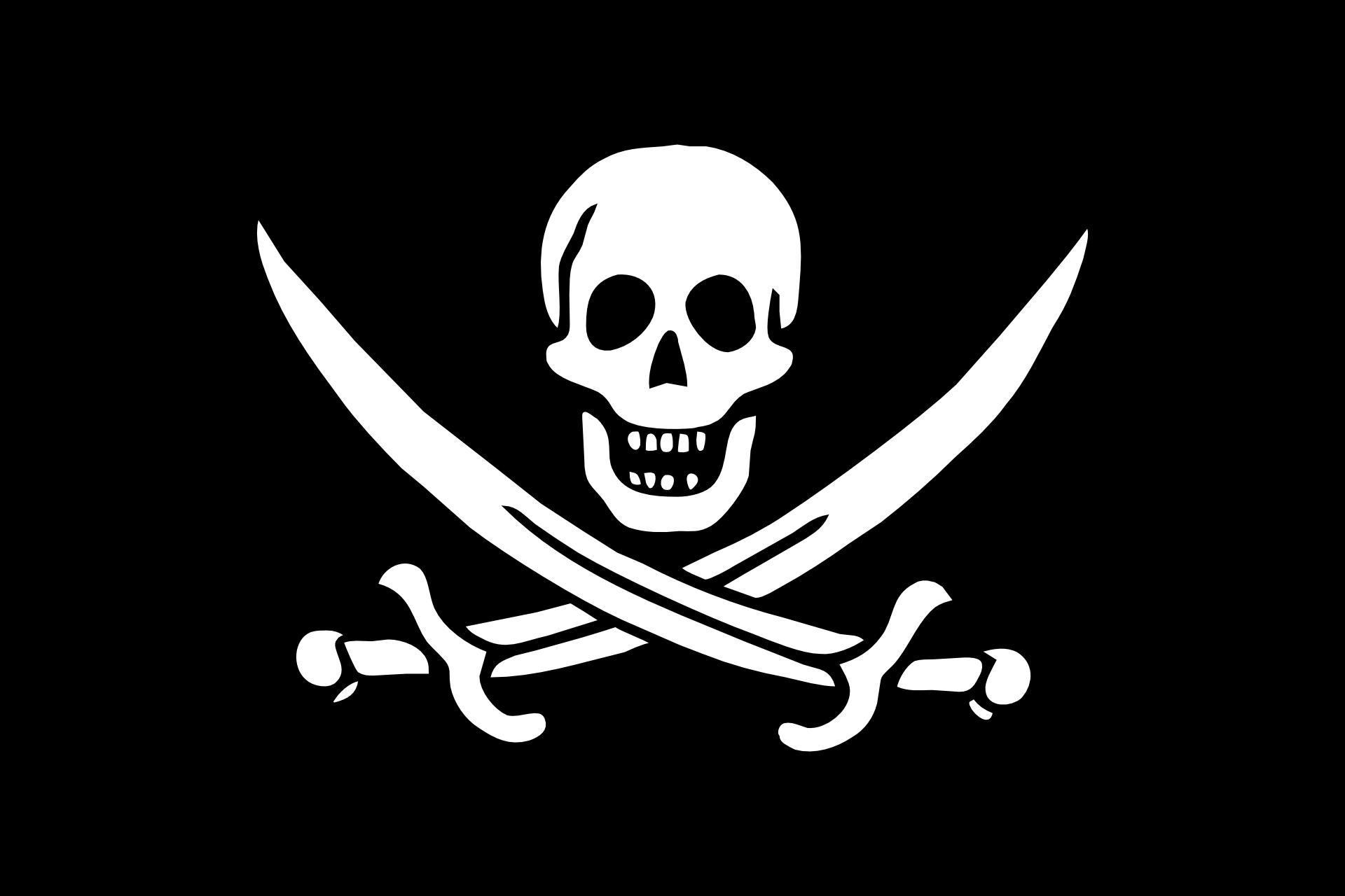 pirate flag skull and swords screensaver animated live desktop