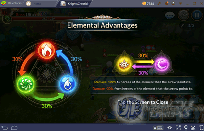 Knights Chronicle: Elemental Advantages