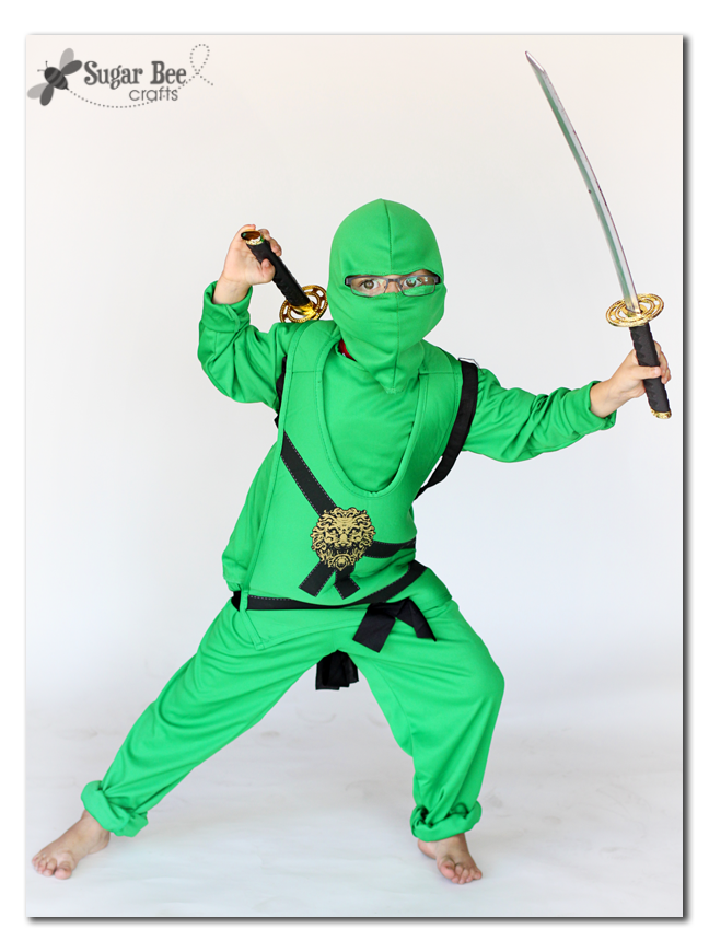 And you can also find accessories to go with the costumes u2013 like this sword backpack thing u2013 because every ninja needs a couple of swords in easy reach.  sc 1 st  Sugar Bee Crafts & Costume Time! with HalloweenCostumes.com - Sugar Bee Crafts