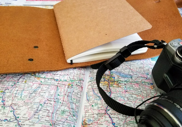 portland leather wrap journal