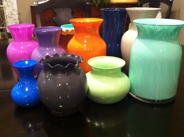 How Do You Paint Glass Vases