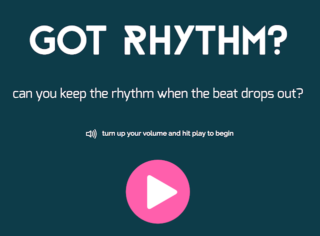 can you keep a steady beat test?