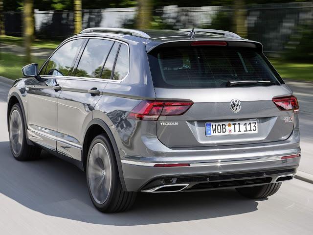 VW Tiguan - 2º carro mais vendido da Alemanha - maio