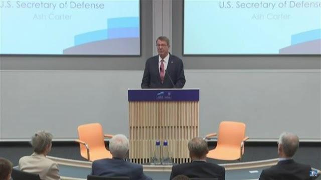 US Defense Secretary Ashton Carter accuses Russia of spreading global instability