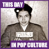 Rosa Parks was arrested on December 1, 1955 for not giving up her seat on a public bus.