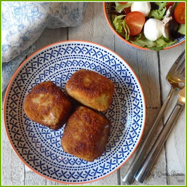 Mushroom Risottoe & Mozzarella Croquettes