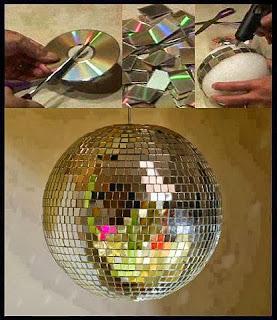 Işıltılı Disko Topu Yapımı