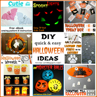 Halloween Ideas wesens-art.blogspot.com