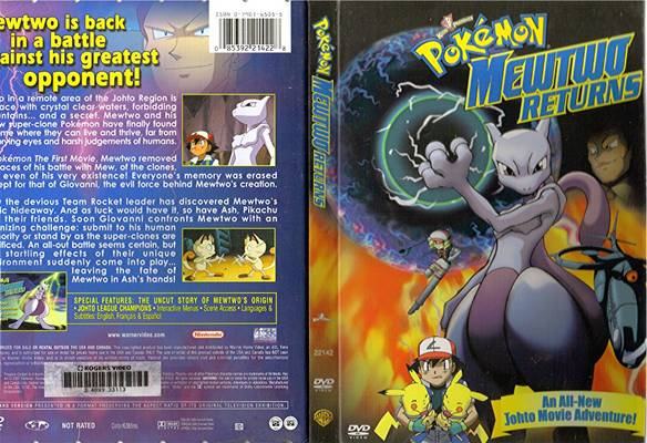 Pokemon Mewtwo Returns Full Movie In English Dubbed