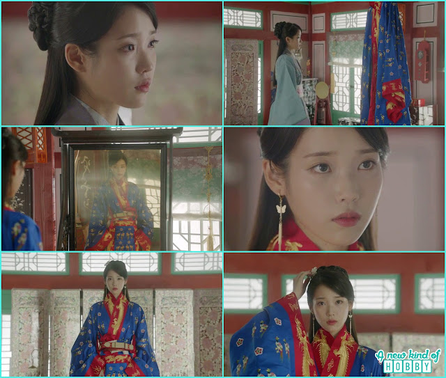 hae soo wear the wedding dress and look into the mirror - Moon Lovers Scarlet Heart Ryeo - Episode 18 (Eng Sub) -