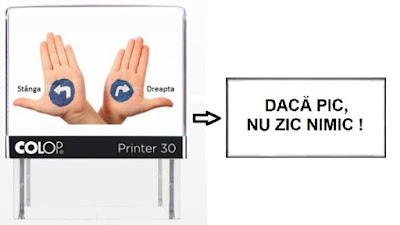 Stampila personalizata - Colop