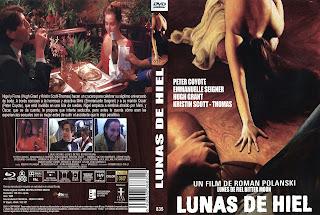 Carátula dvd: Lunas de hiel (1992) Bitter Moon