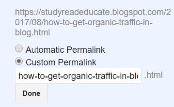Custom Links ,Create Custom Links