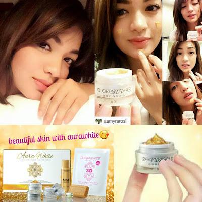 AuraWhite 24K Gold Skincare Murah