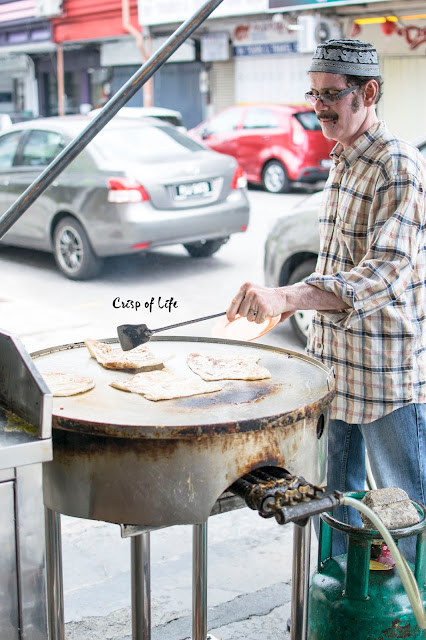 Roti Canai Jalan Argyll Penang