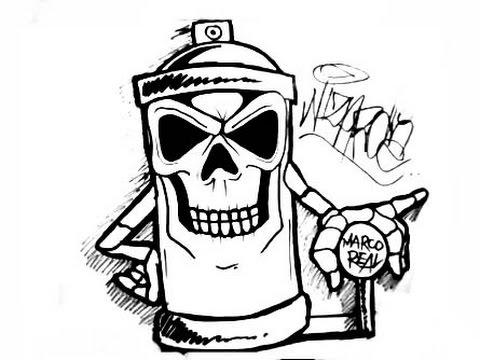 Graffiti: Graffiti DrawingsStep By Step How To Draw Graffiti Characters