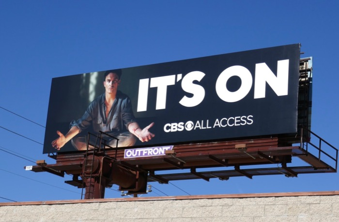Strange Angel Its On CBS billboard