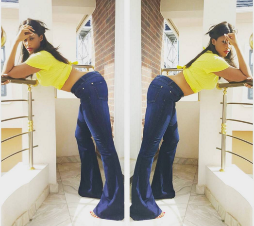 Flavor's Babymama, Sandra Okagbue, Looks $€xily Hot In New Photo (See Here)