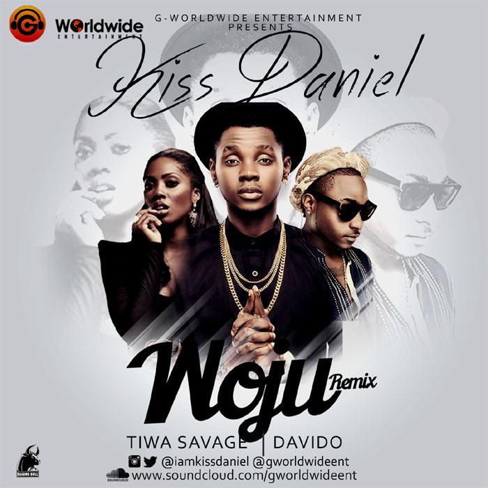Kiss Daniel ft Davido, Tiwa Savage - Woju (remix)