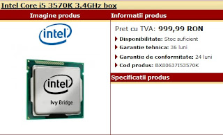 Ivy Bridge i5 3570K