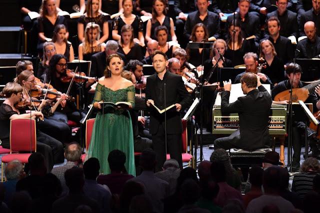 Handel: Theodora - Louise Alder, Iestyn Davies, Jonathan Cohen, Arcangelo - BBC Proms - (photo Chris Christodoulou/BBC)