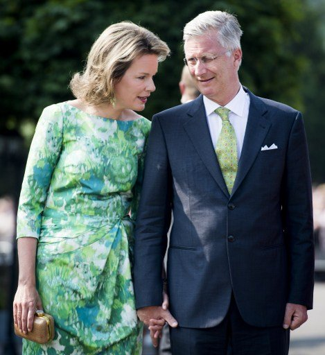 King Philippe and Queen Mathilde of Belgium paid tribute to Emile Verhaeren