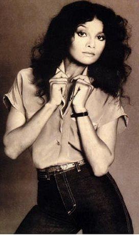 Foto de La Toya Jackson más joven