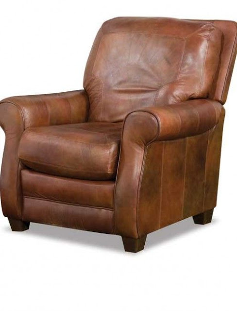 small leather recliners
