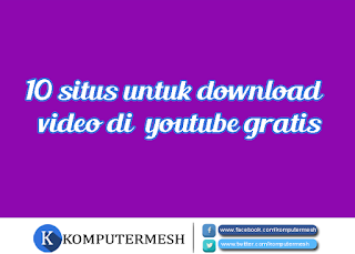 situs download video youtube gratis