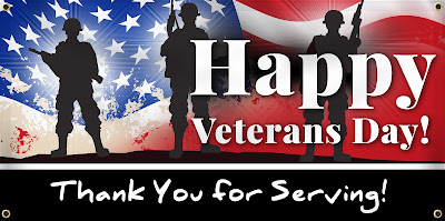 Happy Veterans Day Banner | Banners.com