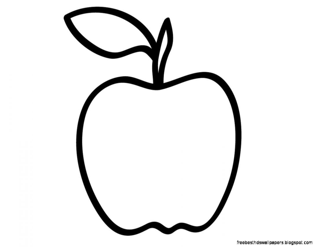 Gambar Mewarnai Buah Apel Warna Devia