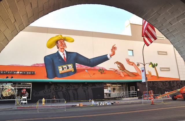 Street Art Mural By Interesni Kazki For The Rise Above Festival In Las Vegas, Nevada. 1
