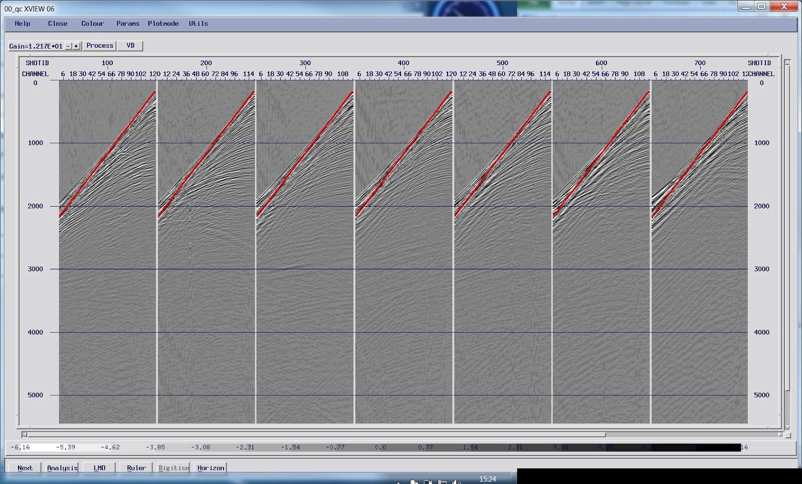 Seismic Reflections Marine Processing