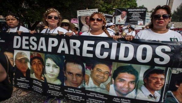 Madres de desaparecidos en México en huelga de hambre