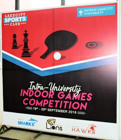Turning Will into Triumph: Intra University Indoor Games 2018 at Jagran Lakecity University.