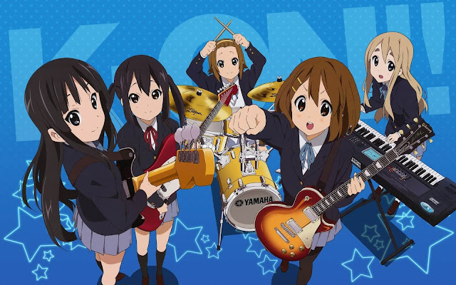 Rekomendasi Anime Yang Mirip Dengan Anime K-On!
