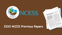 ESSO NCESS Project Assistant Previous Papers