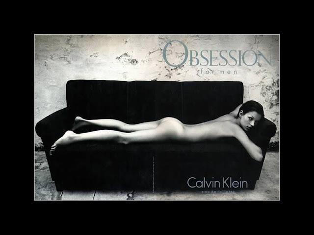 Kate Moss w kampanii Obsession for Men