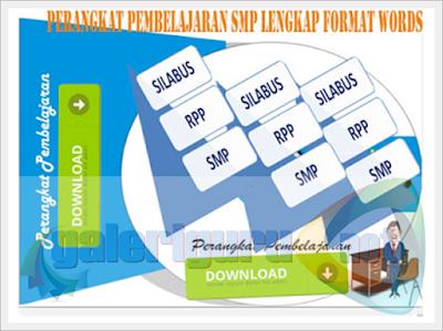 Perangkat KTSP SMP Kelas 7, 8, 9, Format Microsoft Word.doc