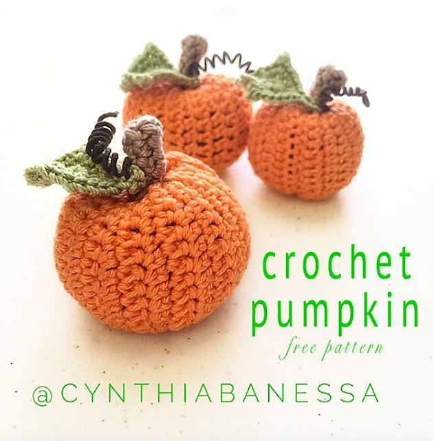 Cynthia Banessa crochet pumpkin