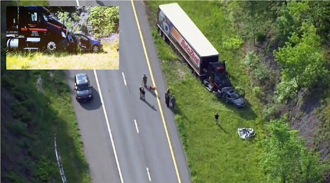 Tres hispanas y dos perros mueren cuando camión chocó su carro en carretera de NY