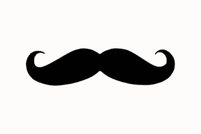 immagine bianco e nero di baffi