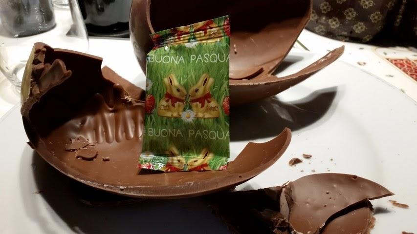 uovo al cioccolato Lindt