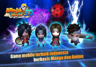 Ninja World 3D V2.1.18 MOD Apk ( Full Karakter & Jutsu )